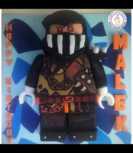 LEGO Ninjago Themed Cake - Character - 3D Cake