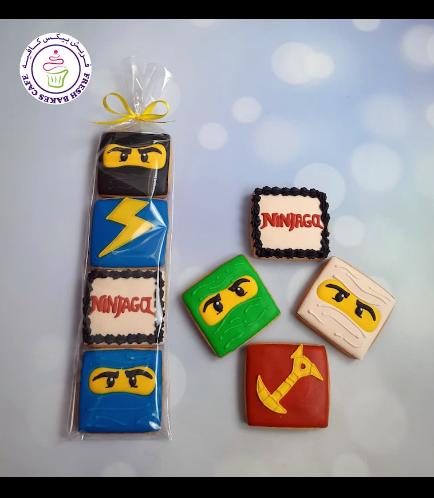 LEGO Ninjago Themed Cookies - Minis