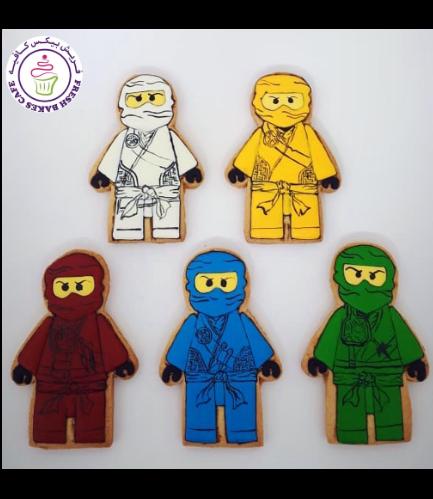 LEGO Ninjago Themed Cookies 03