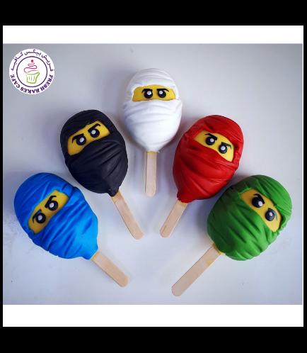 LEGO Ninjago Themed Popsicakes 01