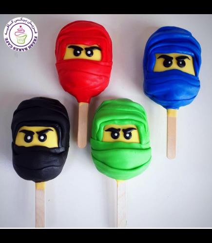 LEGO Ninjago Themed Popsicakes 02