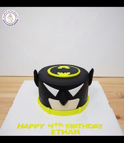 LEGO Batman Themed Cake - Head 01