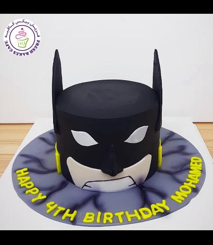 Batman Themed Cake - LEGO - 2D Cake 04