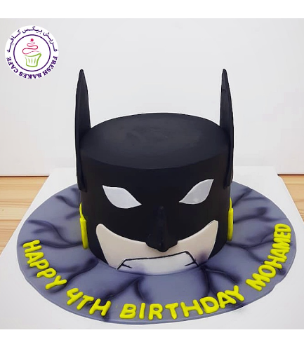 LEGO Themed Cake - Batman - Head 04