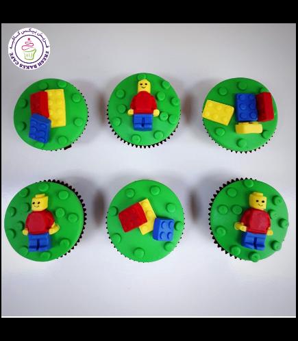 LEGO Themed Cupcakes 03