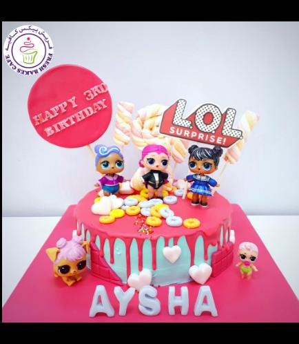 Cake - Toys - 1 Tier 02
