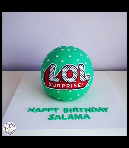 Cake - Ball Cake 01 - Green