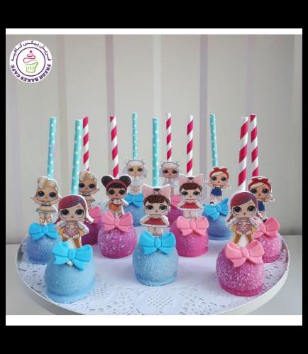 LOL Surprise Doll Themed Cake Pops