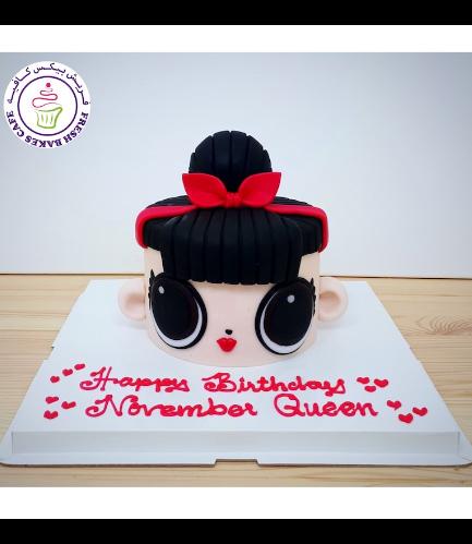 Cake - 2D Head Cake