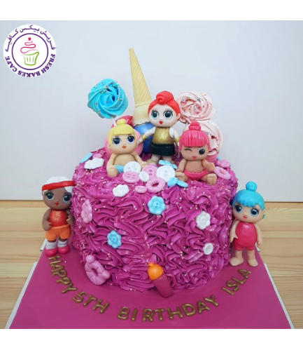 Cake - 3D Cake Toppers - 1 Tier 04
