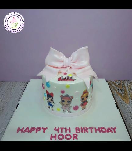 Cake - Bow Tie - 1 Tier 04