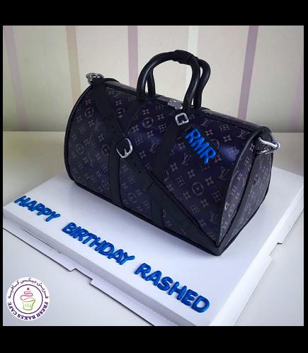 LV Bag Themed Cake
