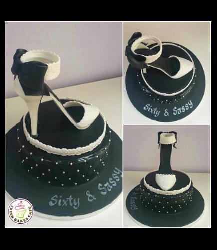 Shoe Themed Cake 02a