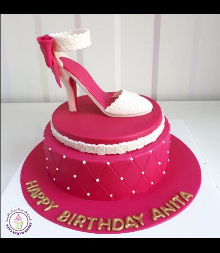 Shoe Themed Cake 02b