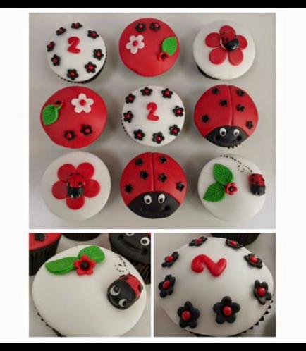 Ladybug Themed Cupcakes 03