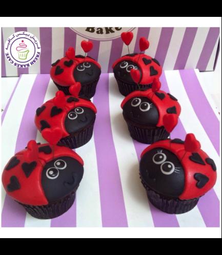 Ladybug Themed Cupcakes 02