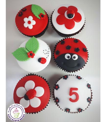 Ladybug Themed Cupcakes 04