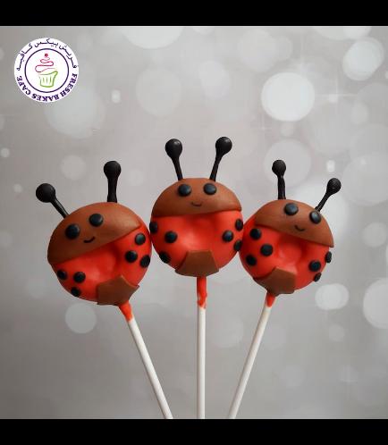Ladybug Themed Donut Pops