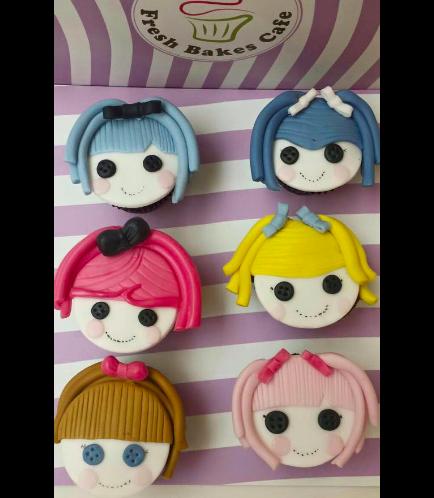 Lalaloopsy Themed Cupcakes