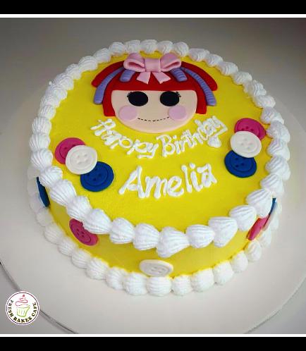 Lalaloopsy Themed Cake 01b