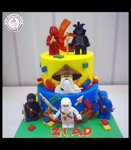 LEGO Ninjago Themed Cake 11a
