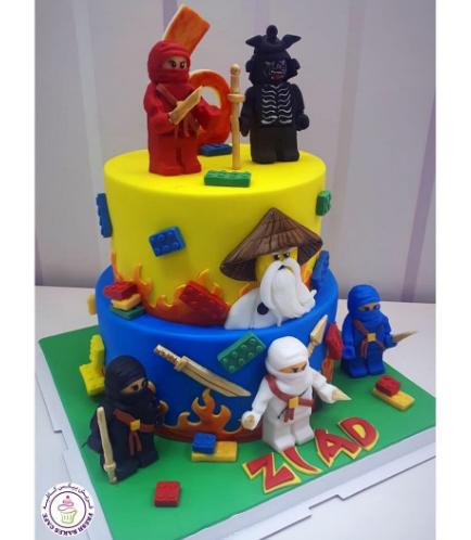 LEGO Ninjago Themed Cake 11b