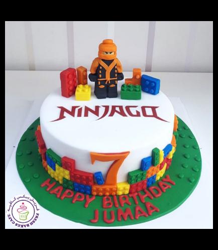 Lego Ninjago Themed Cake 12