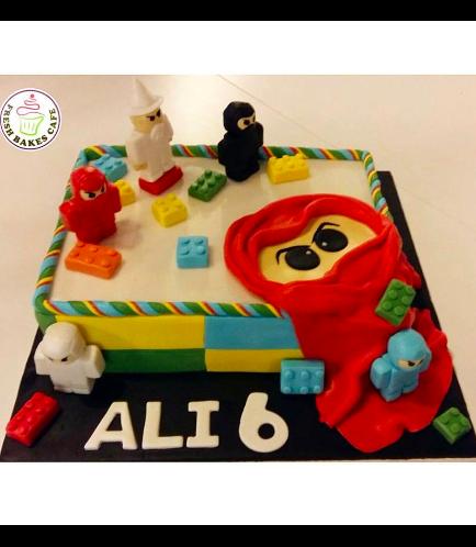 Lego Ninjago Themed Cake 01