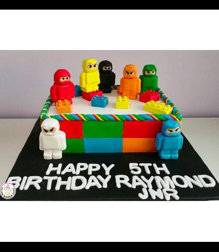 LEGO Ninjago Themed Cake 02