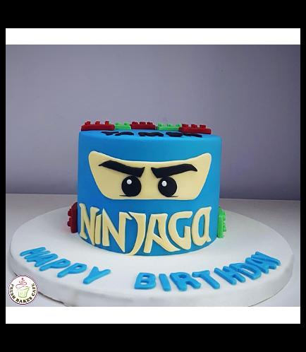 LEGO Ninjago Themed Cake 07