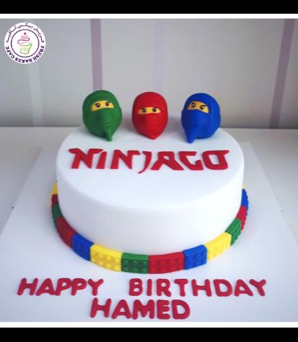 LEGO Ninjago Themed Cake 09