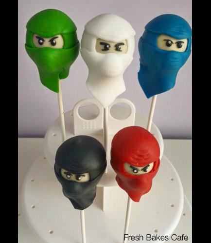 LEGO Ninjago Themed Cake Pops 01