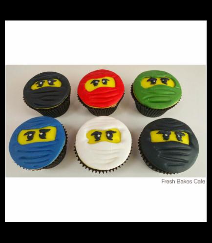 Lego Ninjago Themed Cupcakes 01