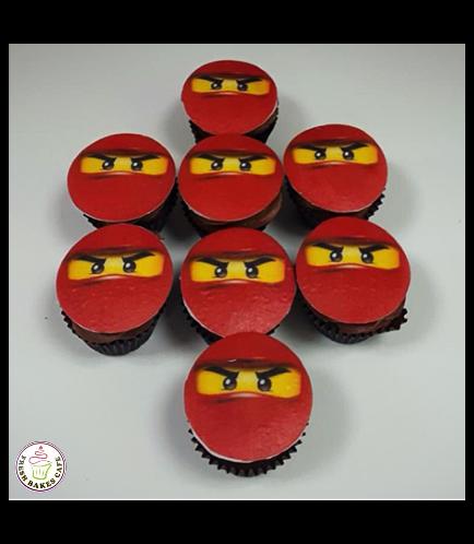 LEGO Ninjago Themed Cupcakes 02