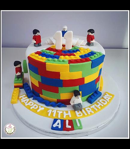 Lego Themed Cake 05