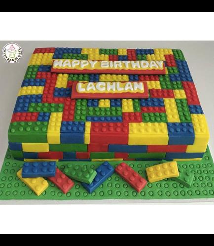 LEGO Themed Cake 07