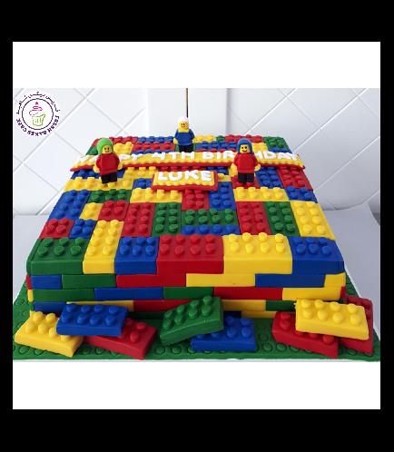 Lego Themed Cake 7b