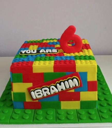 Lego Themed Cake 08