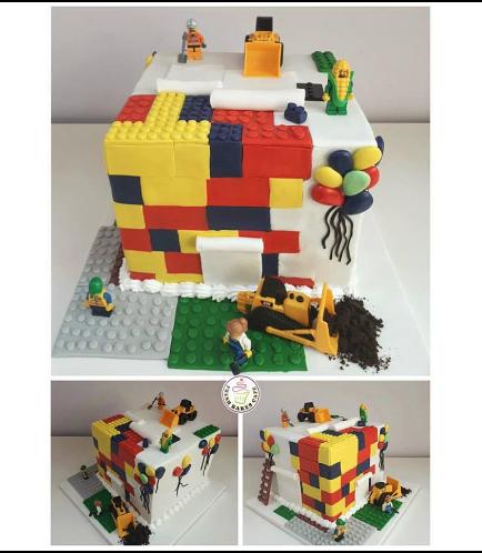 Lego Themed Cake 09