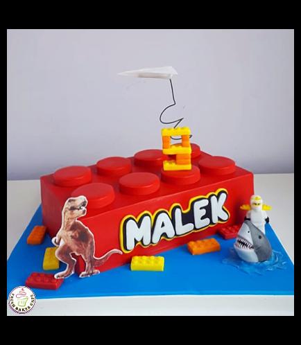 LEGO Themed Cake 11a