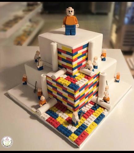 Lego Themed Cake 10a