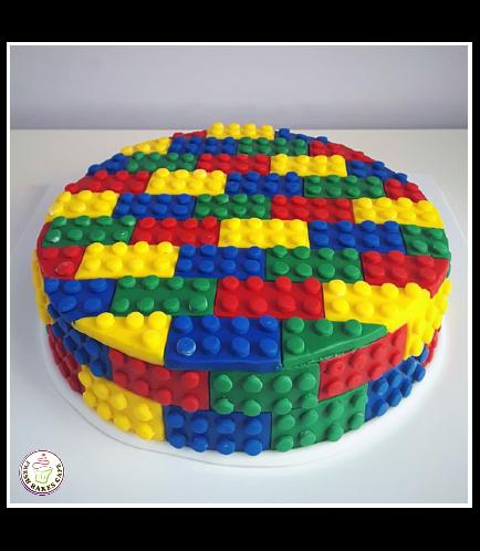 Lego Themed Cake 12