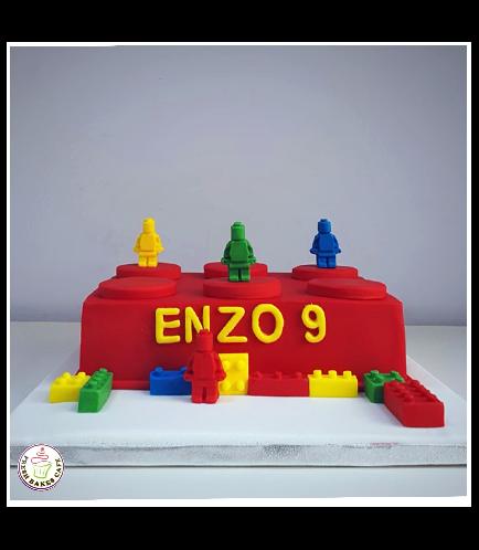Lego Themed Cake 02b