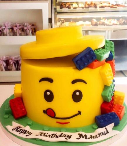 LEGO Themed Cake 01