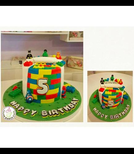 LEGO Themed Cake 04