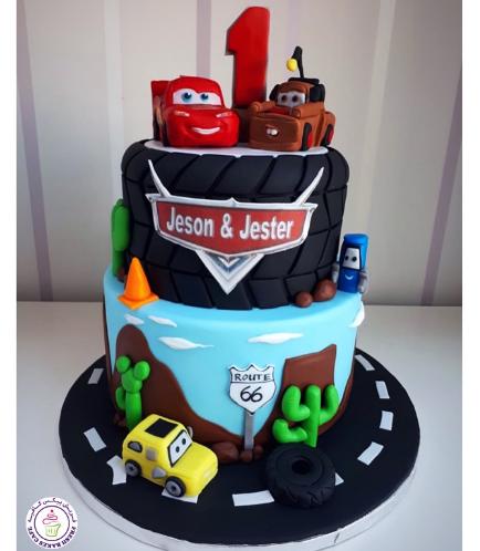 Disney Pixar Cars Themed Cake 08