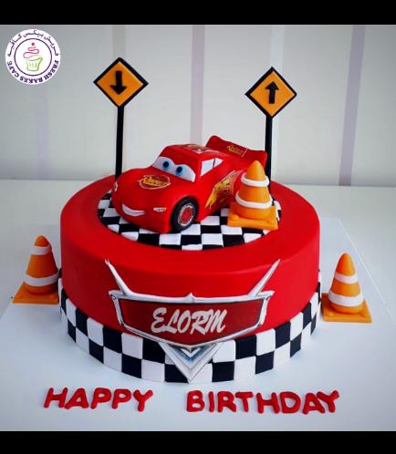 Disney Pixar Cars - Lightning McQueen Themed Cake 15