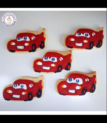 Disney Pixar Cars - Lightning McQueen Themed Cookies 02