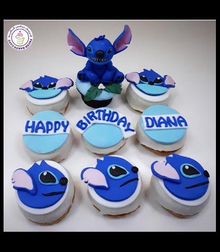 Lilo & Stitch Themed Cupcake & Donuts