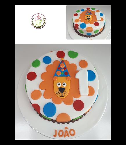 Cake - Lion 2D Picture